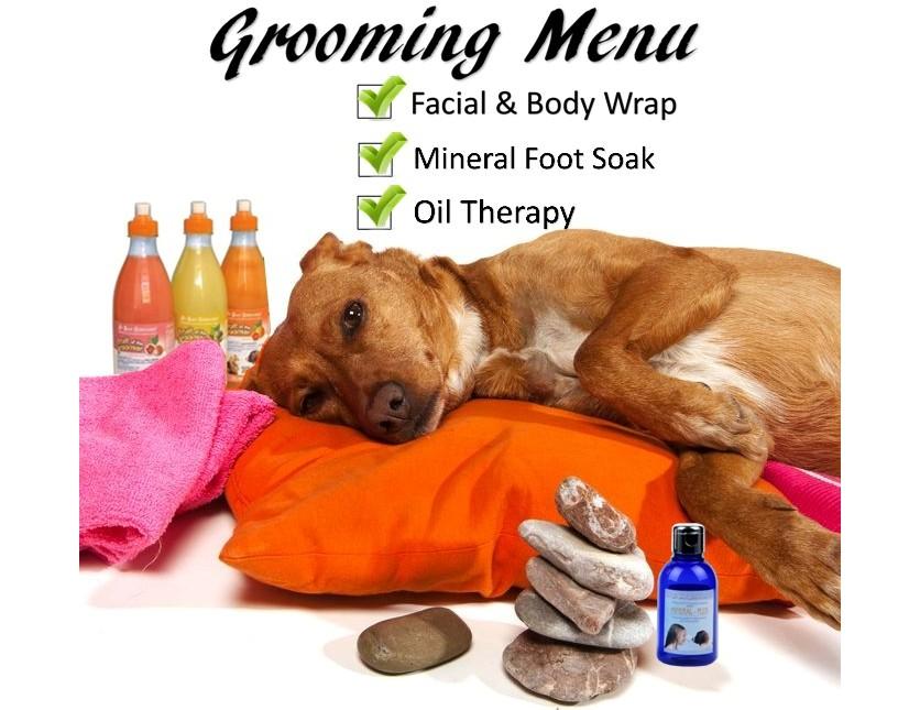 FREE Grooming Menu