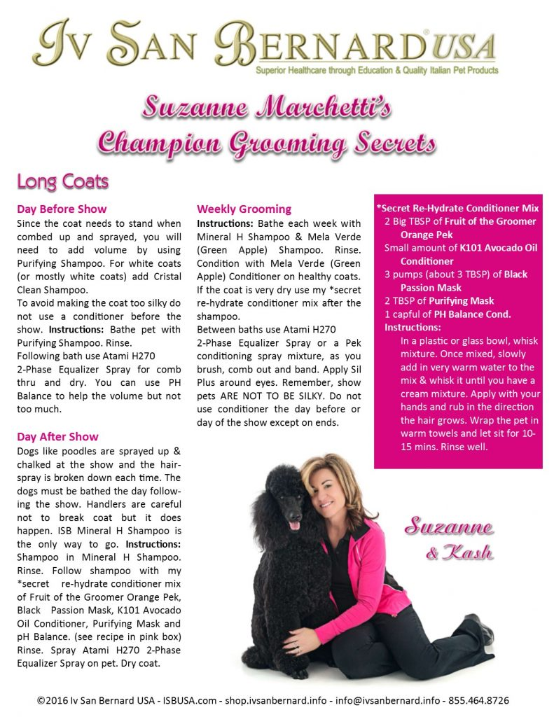 Suzanne Champion Grooming Secrets 1